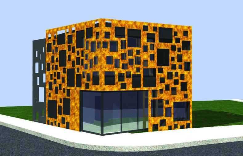 Архитектурен проект на шоурум