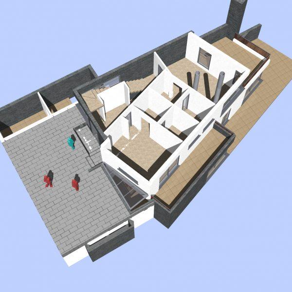 Проект за еднофамилна къща в Бояна