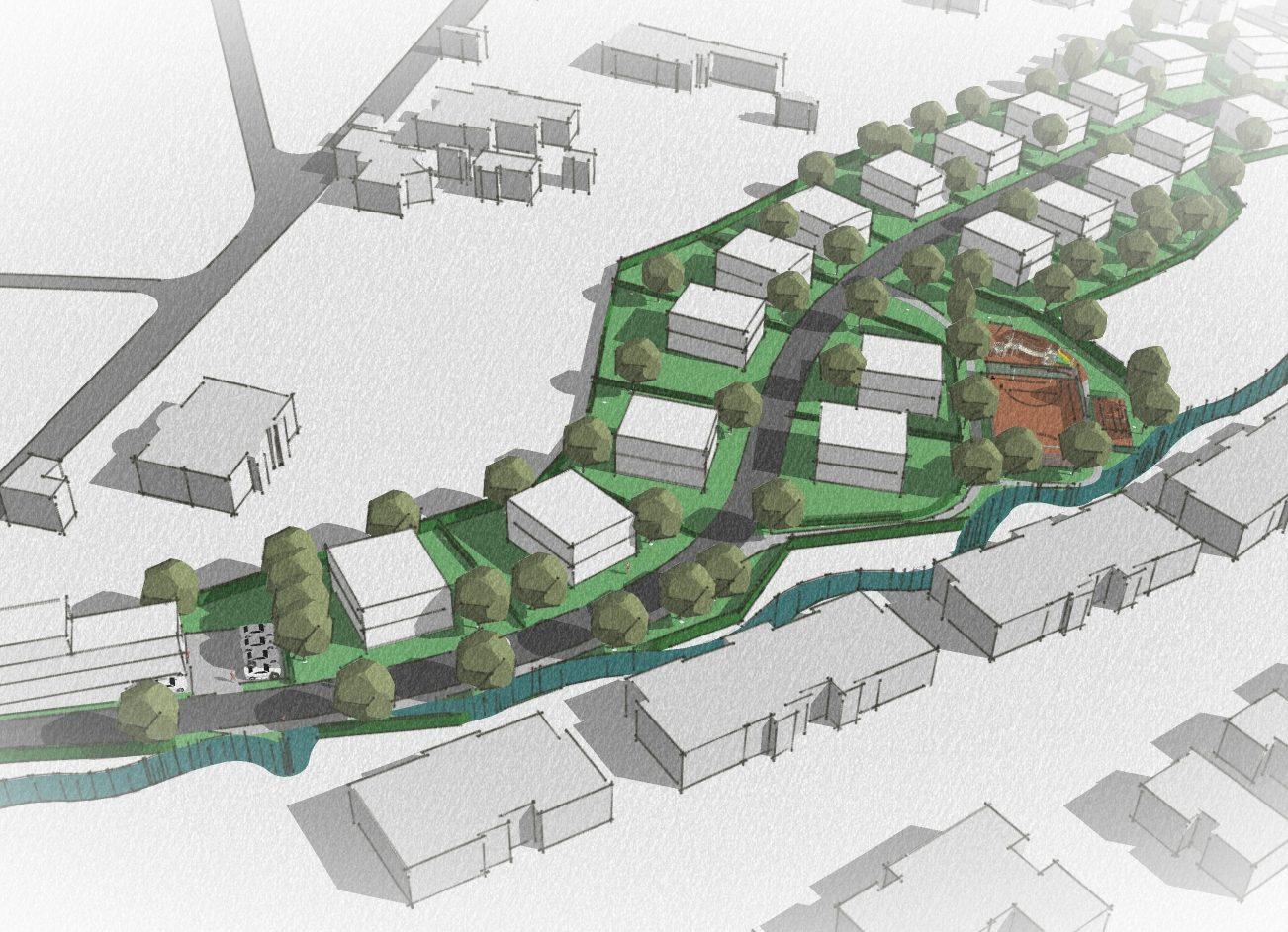 проектиране на затворен комплекс в Симеоново