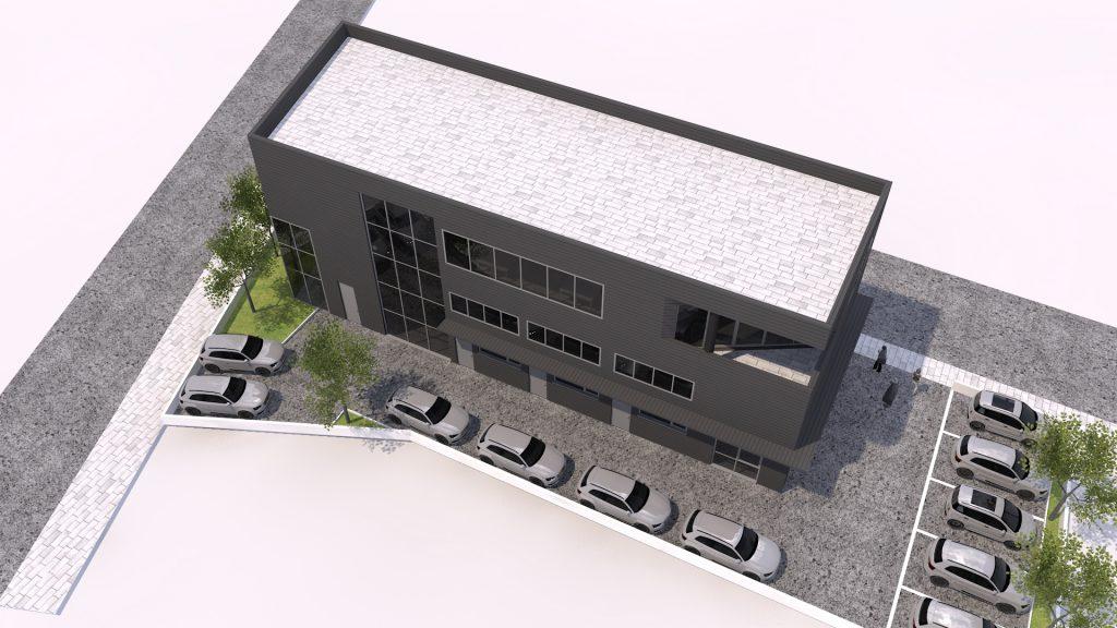 Проект за автосалон и шоурум в София