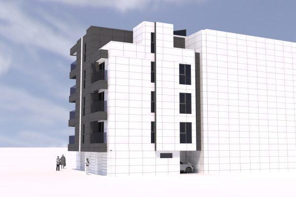 Архитектурен проект за жилищна кооперация