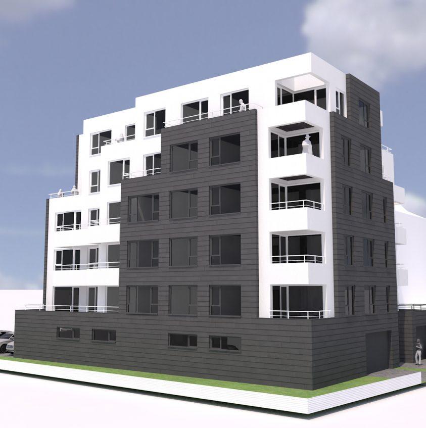 Проект за жилищна сграда в София