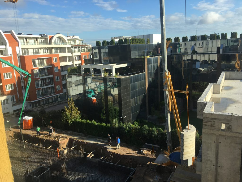 строителство на жилищна сграда