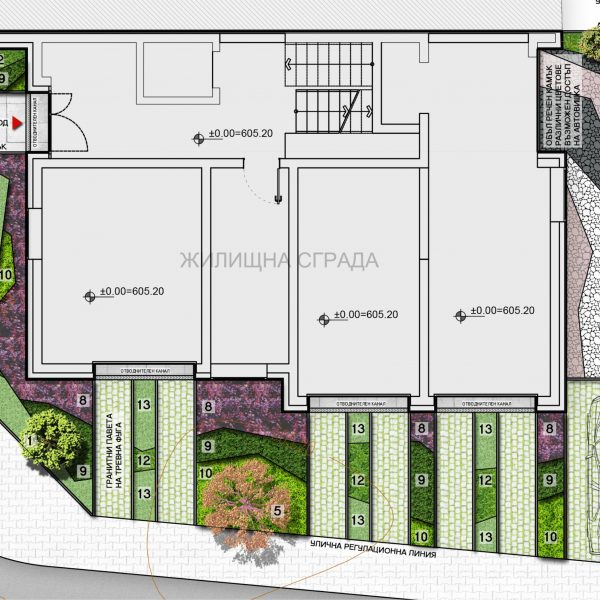 Проект за озеленяване на сграда