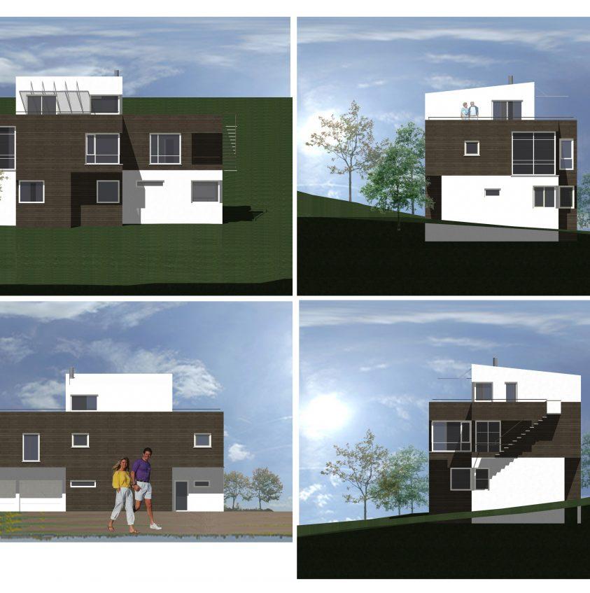 Еднофамилна къща в Норвегия