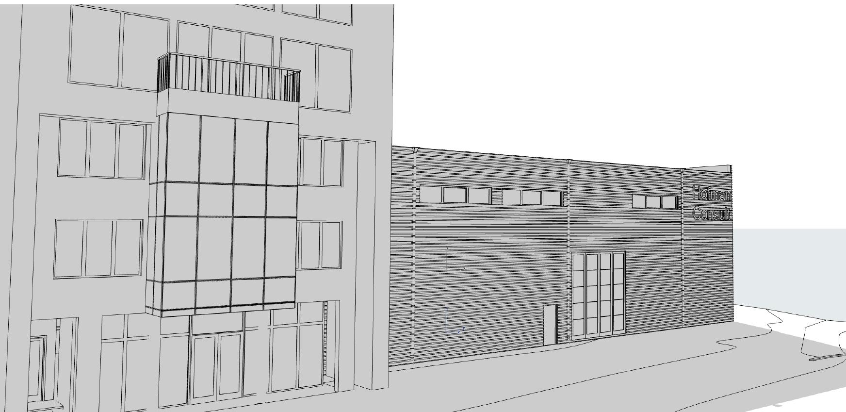 Архитектурен проект на индустриално хале
