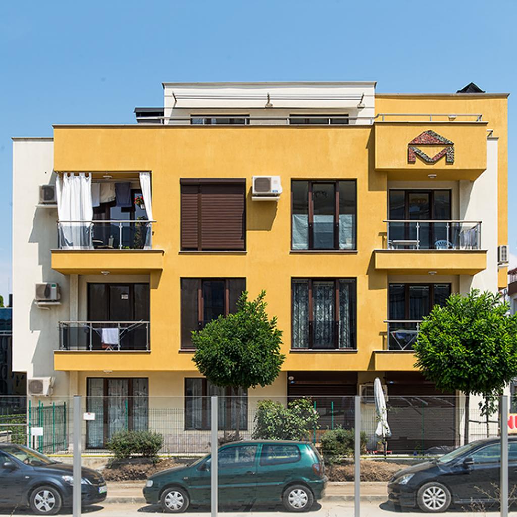 Архитектурен проект на блок и кооперация