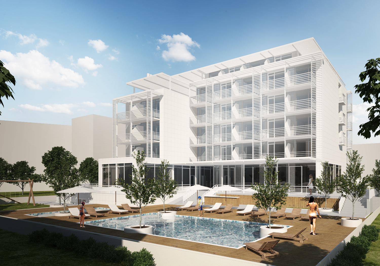 Архитектурен проект за хотелски комплекс