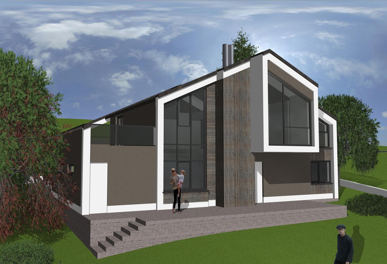 Проект за къща в Норвегия
